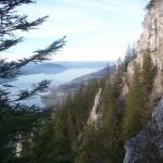 Schoberstein-Aufstieg - Blick auf Steinbach
