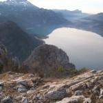 Schoberstein Gipfel - Blick Attersee - Mondsee