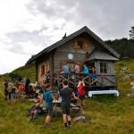 Bergmesse Brennerin 04.09.11 Bergrettungshütte