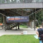 Vorbereiten zum Abseilen - 10 Aussichtsturm Attergau